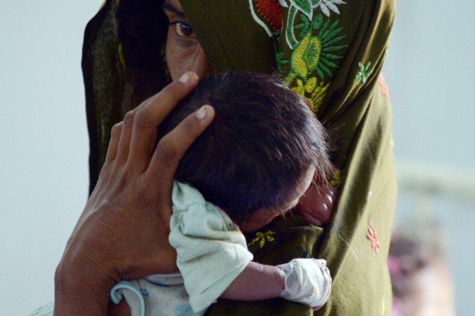 La clinique publique de Mithireçoit depuis le début... (Photo RIZWAN TABASSUM, AFP)