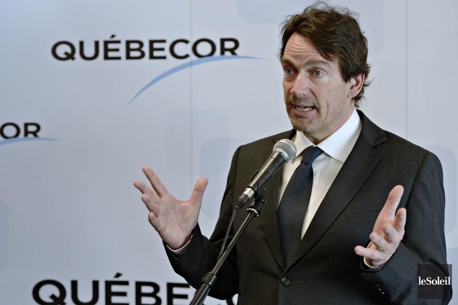 Pierre Karl Péladeau, l'actionnaire de contrôle de Québecor,... (Photo Pascal Ratthé, Archives Le Soleil)