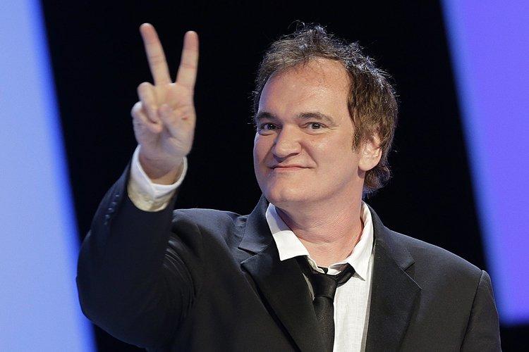 Quentin Tarantino lors dugala des Césars, à Paris,... (Photo: Reuters)