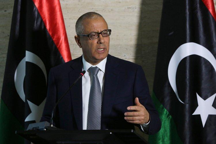 L'ex-premier ministre libyen Ali Zeidan.... (PHOTO AFP)