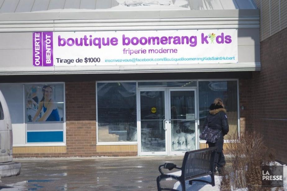 Jusqu'ici, la chaîne de magasinsBoomerangKids a trois établissements... (PHOTO ANDRÉ PICHETTE, LA PRESSE)