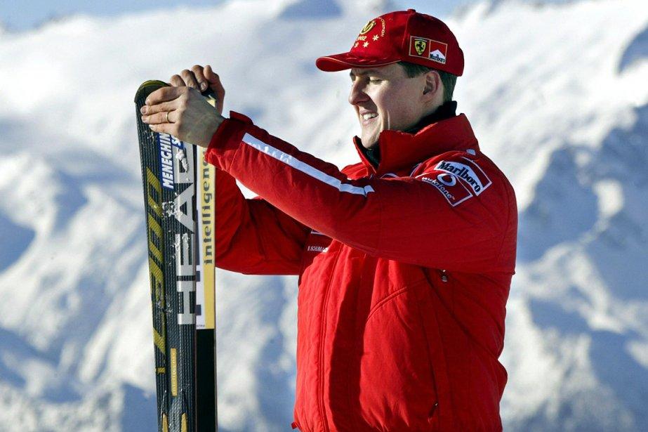 Michael Schumacher... (Photo Vincenzo Pinto, archives AFP)