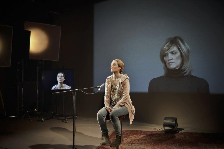 Evelyne Brochu et Josée Deschênes sont brillantes dans... (Photo: Yanick Macdonald, fournie par la Licorne)