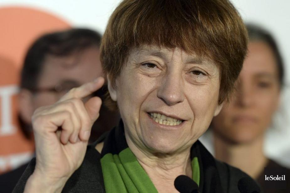 Françoise David... (Photo archives Le Soleil)