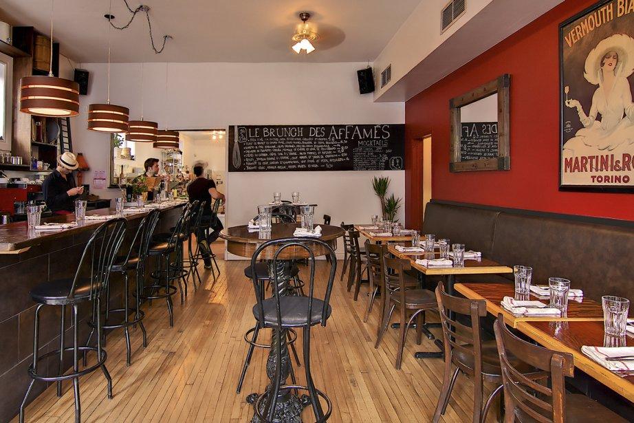 L'atmosphère du petit restaurant d'Hochelaga-Maisonneuve est chaleureuse, même... (Photo fournie par Les Affamés)