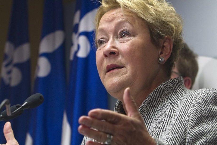 Pauline Marois... (Photo Clément Allard, La Presse Canadienne)