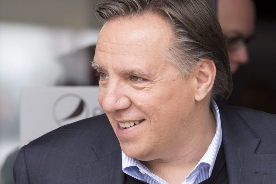 Francois Legault... (Photo Jacques Boissinot, La Presse Canadienne)