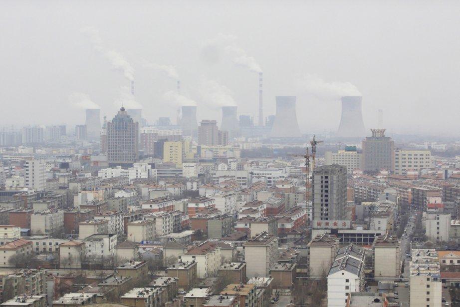 La Chine souffre d'une pollution extrême due à... (PHOTO REUTERS/STRINGER)