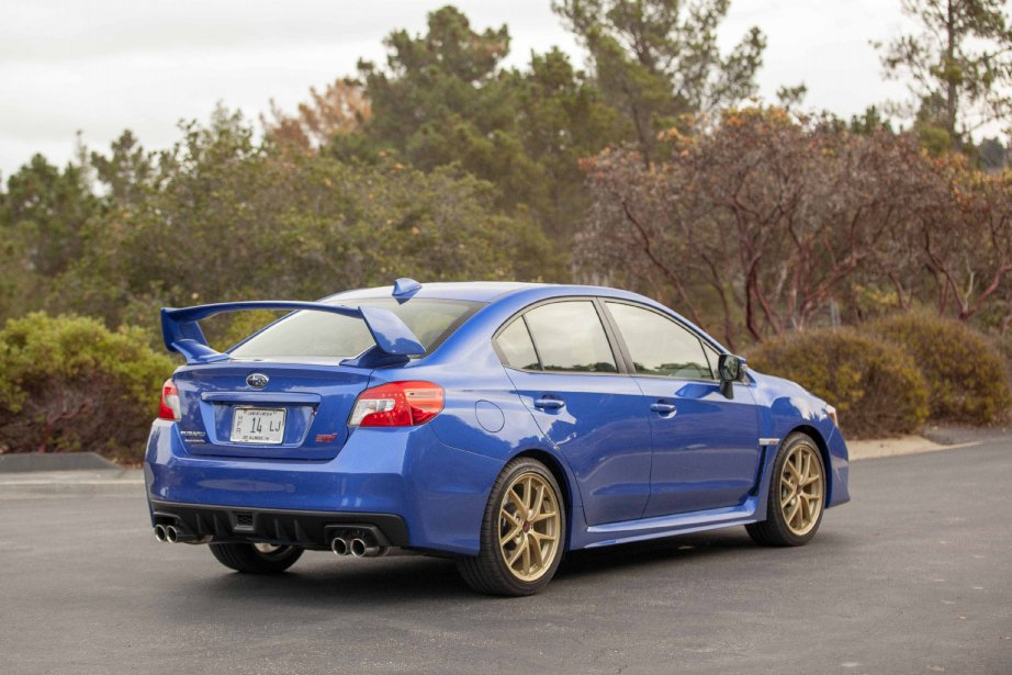Subaru STi (Photo fournie par Subaru)