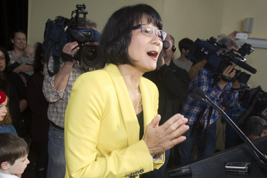 Olivia Chow, candidate à la mairie de Toronto... (Photo FRED THORNHILL, Reuters)