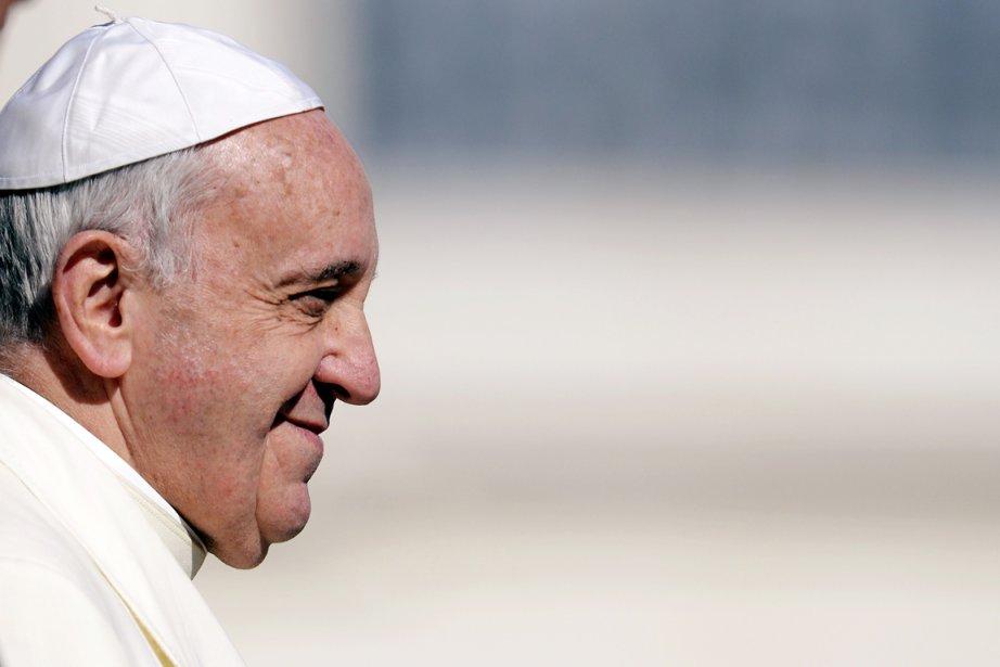 En retraite spirituelle, François a passé ce premier... (PHOTO ANDREAS SOLARO, ARCHIVES AFP)