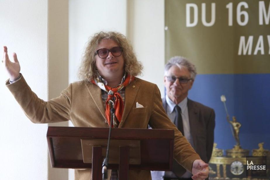 Le collectionneur français Pierre-Jean Chalençon a fourni la... (Photo: Martin Chamberland, La Presse)