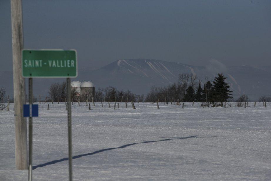 C'est à Saint-Vallier, à une quarantaine de kilomètres à l'est de Lévis, que La Corriveau a assassiné son mari, le cultivateur Louis Dodier. (Photo Hugo-Sébastien Aubert, La Presse)