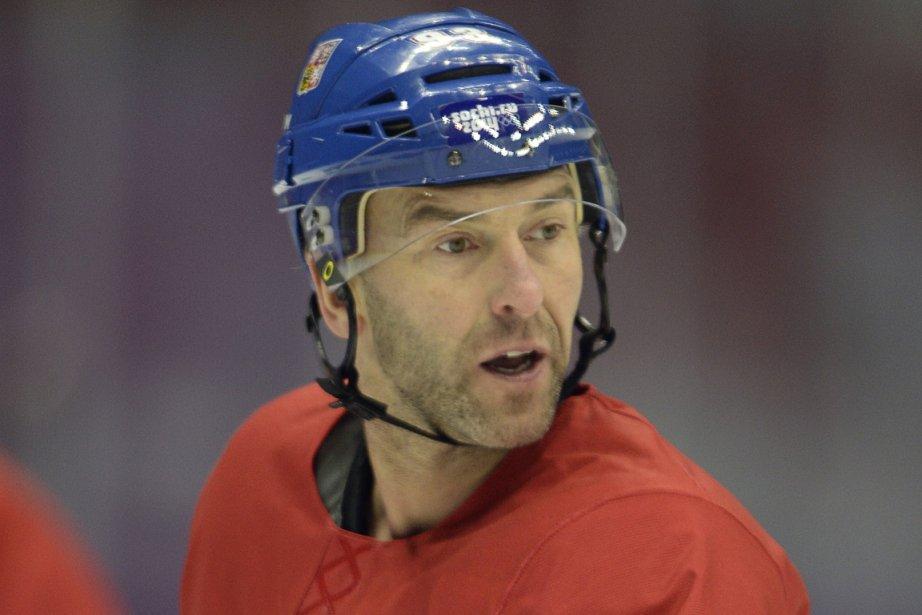 Petr Nedved a participé aux Jeux olympiques de... (Photo Alexander Nemenov, AFP)