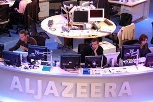 La salle des nouvelles de la chaîne d'Al-Jazira... (PHOTO ARCHIVES AP)