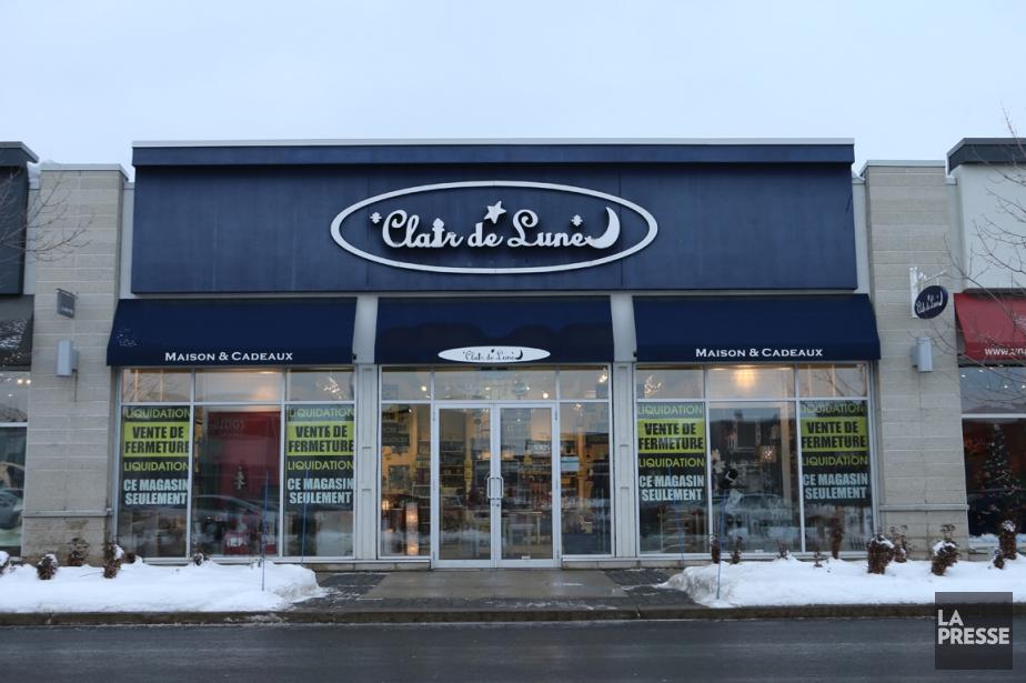 Les boutiques Clair de lune, en... (PHOTO MARTIN CHAMBERLAND, LA PRESSE)