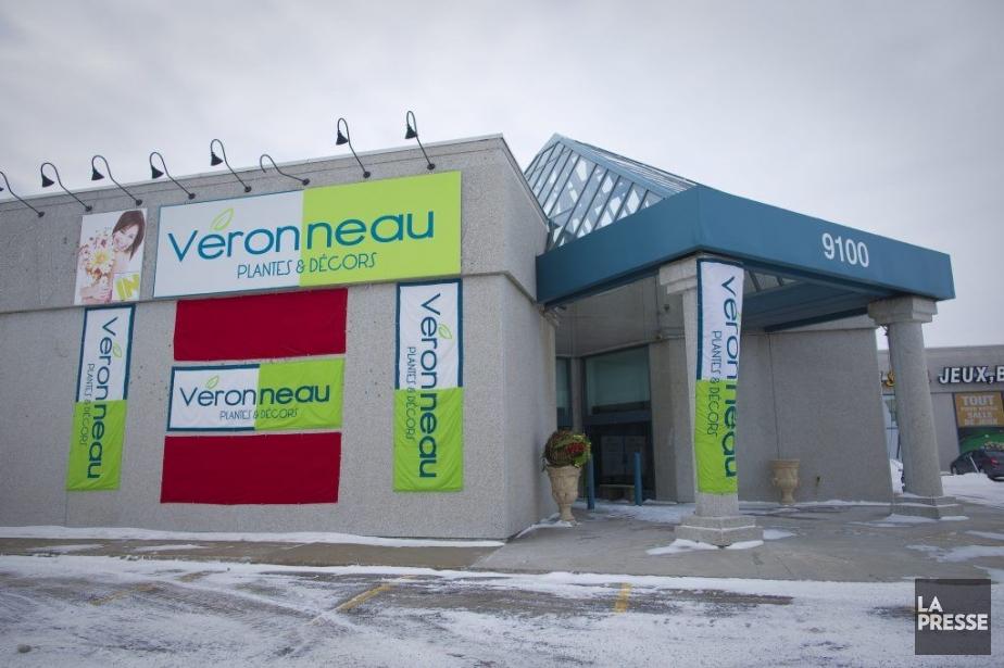 Le magasin Plantes et Décors Véronneau duboulevard Cavendish... (PHOTO ANDRÉ PICHETTE, LA PRESSE)