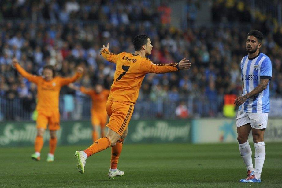 Cristiano Ronaldo a été le seul buteur de... (PHOTO JORGE GUERRERO, AFP)