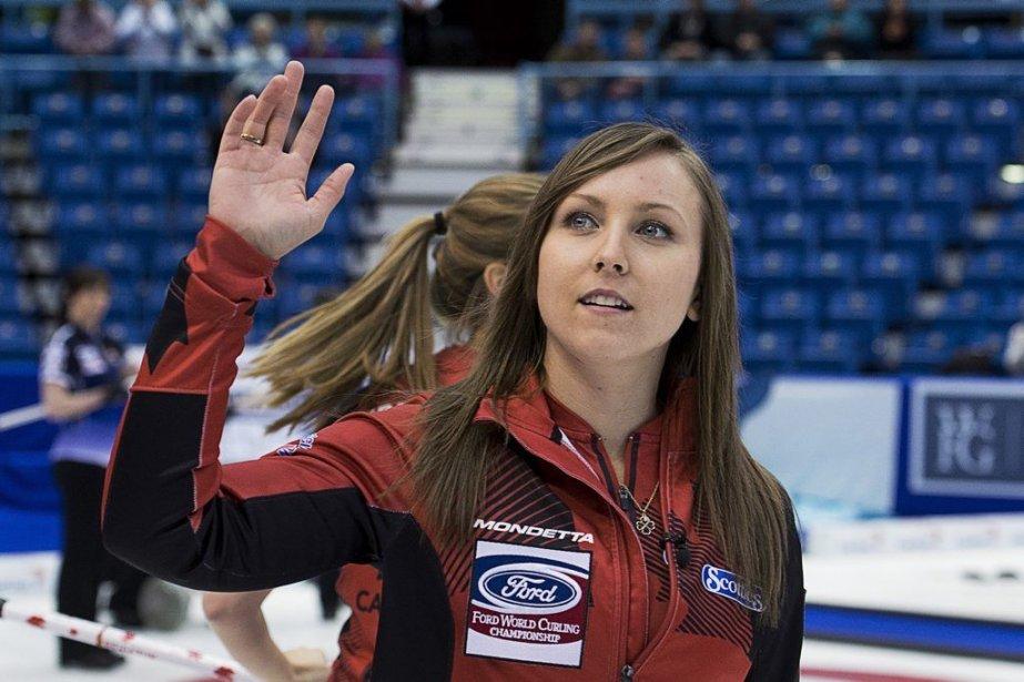 La capitaine canadienne Rachel Homan.... (PHOTO ANDREW VAUGHAN, PC)