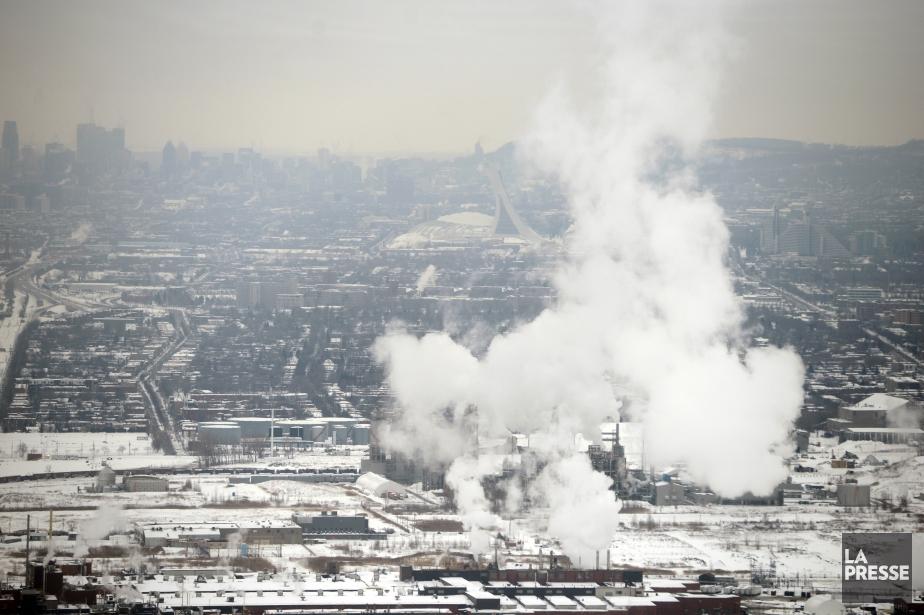 Le marché du carbone, qui vise la réduction... (Photo Bernard Brault, archives La Presse)