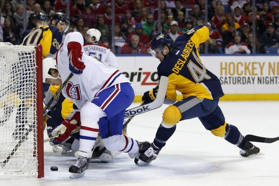 Dale Weise (22) marque le premier but de... (PHOTO TIMOTHY T. LUDWIG, USA TODAY)