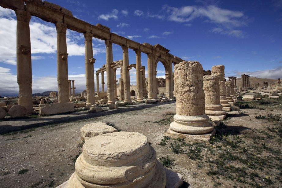 La «perle du désert», inscrite par l'Unesco au... (Photo AFP)