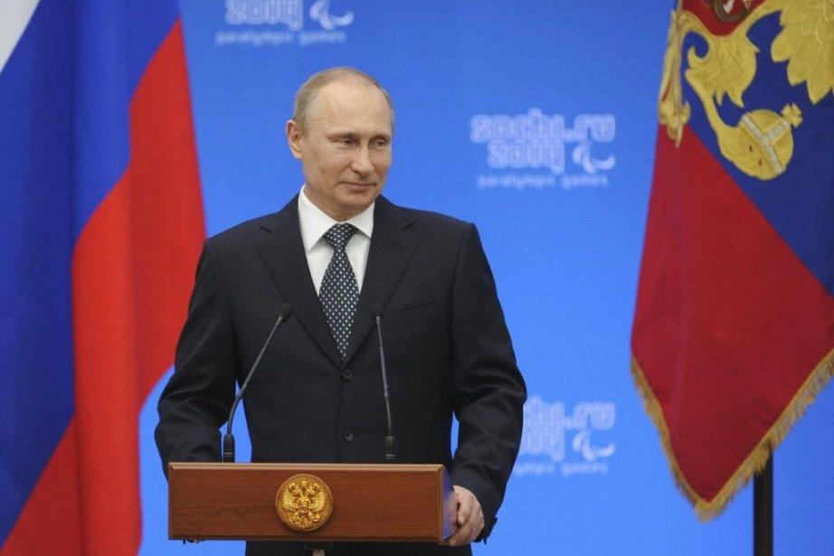 Le président russe Vladimir Poutine... (PHOTO REUTERS)
