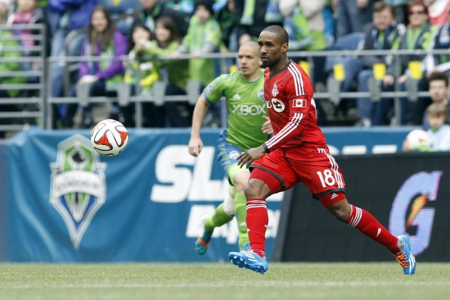 Jermain Defoe (18) a souligné sn début en... (PHOTO JOE NICHOLSON, USA TODAY)