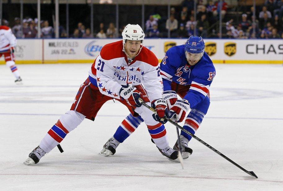 L'attaquant des Capitals de Washington... (Photo Adam Hunger, USA Today Sports)