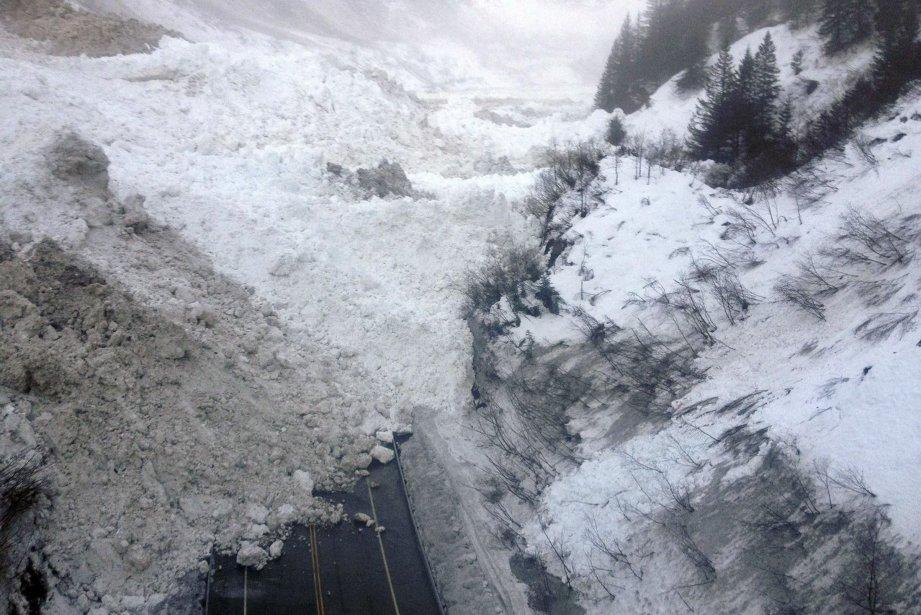 Une avalanche en Alaska... (Photo REUTERS)