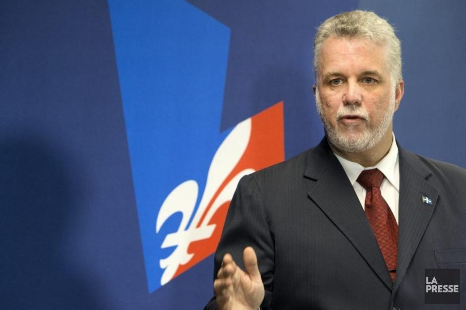 Le chef du Parti libéral du Québec, Philippe... (Photo Robert Skinner, La Presse)