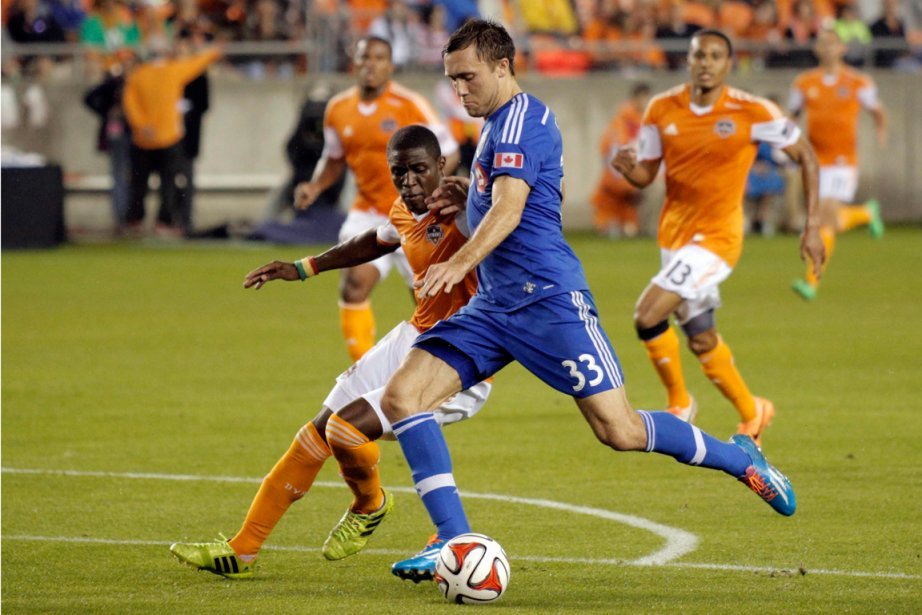 Andrew Wenger (33), ici contre le Dynamo de... (Photo Andrew Richardson, USA Today)