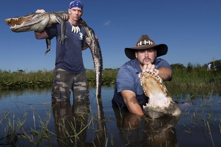 Paul Bedard et Jimmy Riffle dans Gator Boys:... (Photo : fournie par Évasion)