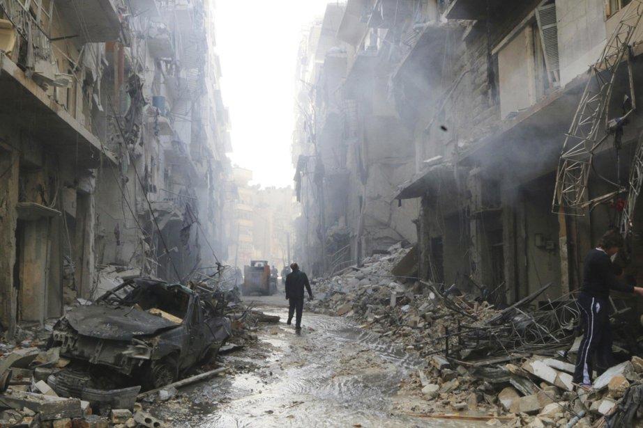 «Le volume des dégâts évalués en raison de... (PHOTO HOSAM KATAN, REUTERS)