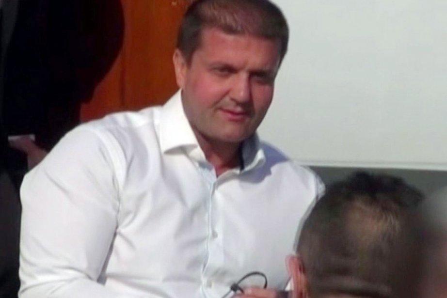 Darko Saric, 43 ans, est le cerveau présumé... (PHOTO AP/BIRO TV)