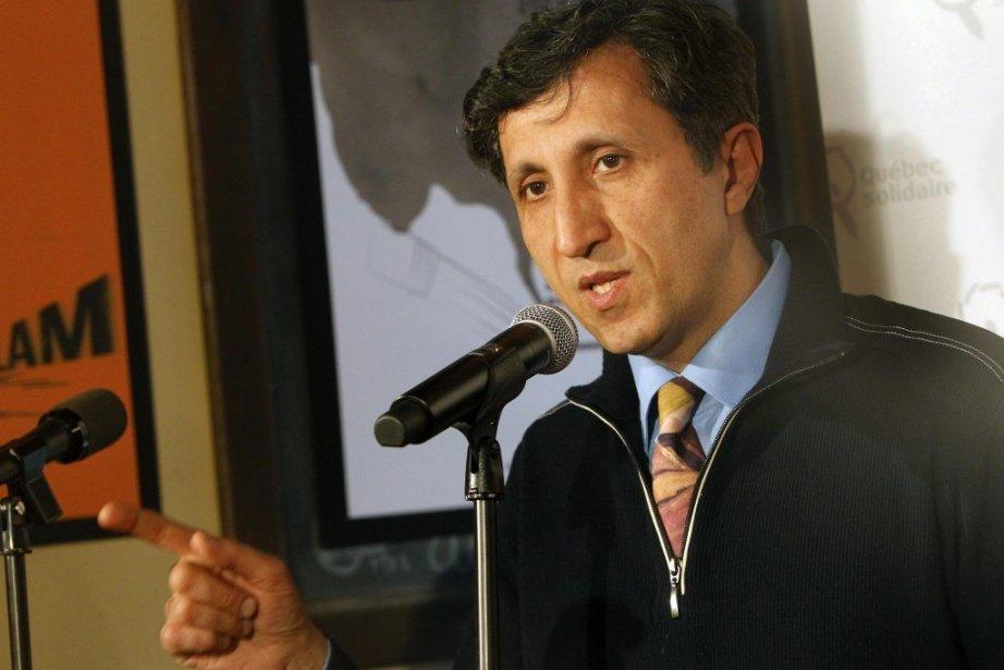 Le depute sortant de Mercier Amir Khadir.... (Photo Simon Séguin-Bertrand, LeDroit)