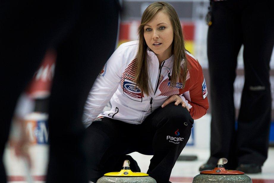 L'équipe de la Canadienne Rachel Homan a une... (Photo Andrew Vaughan, PC)