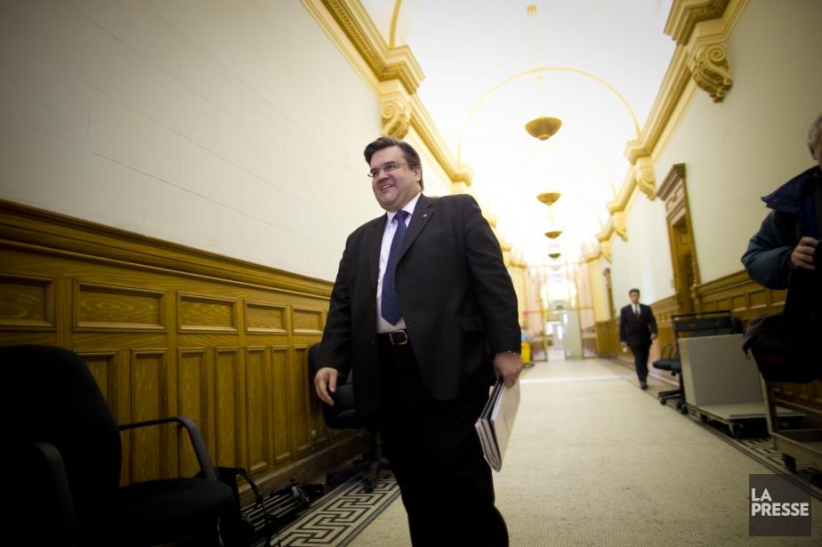 La maire de Montréal, Denis Coderre... (Photo Andre Pichette, archives La Presse)