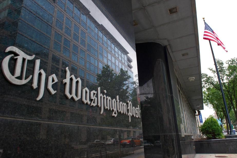 Les bureaux duWashington Post... (Photo KAREN BLEIER, AFP)