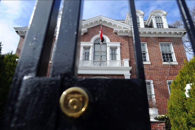 Le gouvernement américain a fait fermer mardi l'ambassade et les... (Photo: AFP)