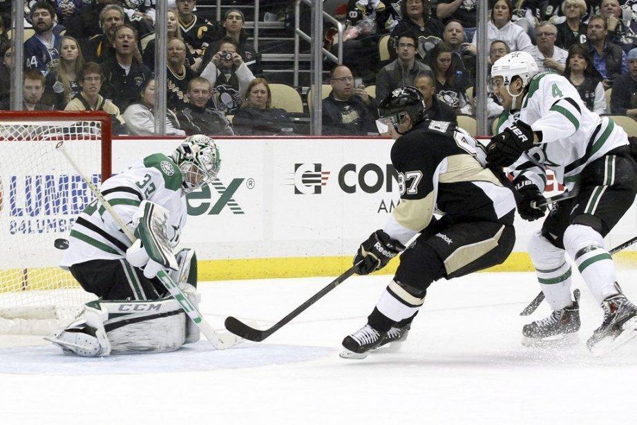 Sidney Crosby a marqué ses 32e et 33e buts de la saison en... (Photo: Reuters)