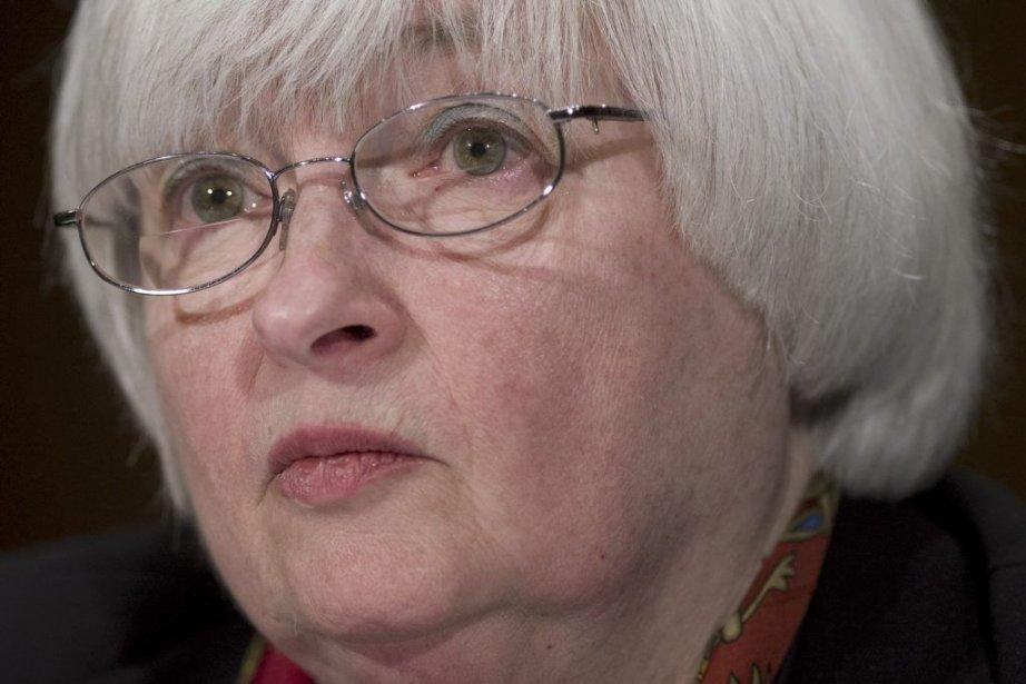 Janet Yellen... (PHOTO SAUL LOEB, AFP)