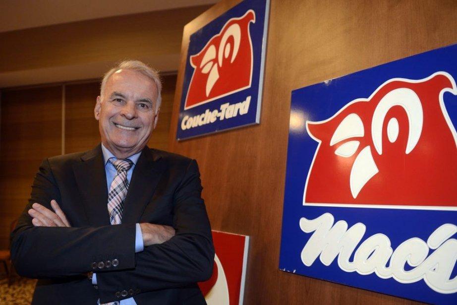 Le fondateur d'Alimentation Couche-Tard, Alain Bouchard.... (Photo Ryan Remiorz, The Canadian Press)