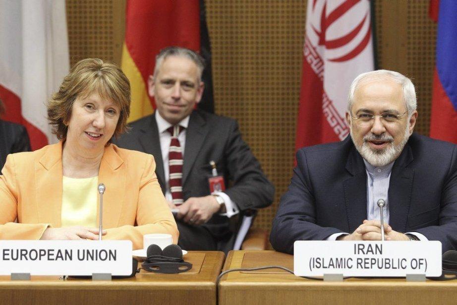 La chef de la diplomatie européenne CatherineAshton aux... (PHOTO DIETER NAGL, AFP)