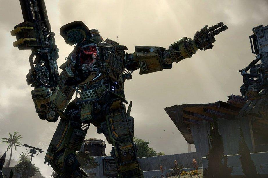 Le jeuTitanfalla été publié mardi par Electronic Arts....