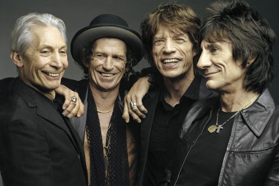 Charlie Watts, Keith Richards, Mick Jagger et Ron... (Photo: archives AP)