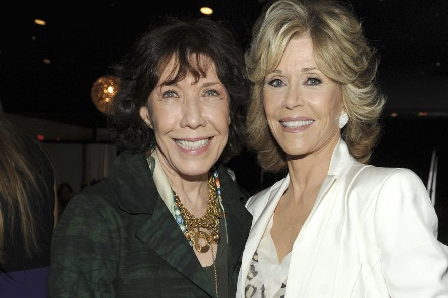 Lily Tomlin et Jane Fonda... (Photo: archives AP)