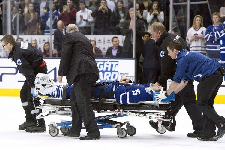 Les Maple Leafs de Toronto ont indiqué que Paul Ranger se... (Photo: AFP)