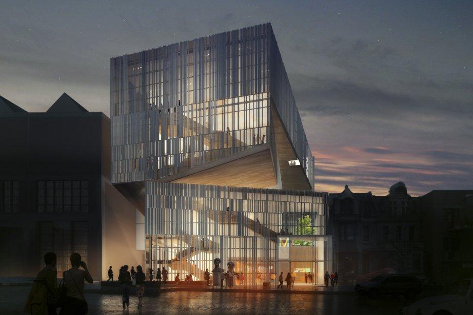 Fort d'un engouement sans précédent, leMusée des beaux-arts... (Image: fournie par Atelier TAG/Jodoin Lamarre Pratte architectes en consortium)