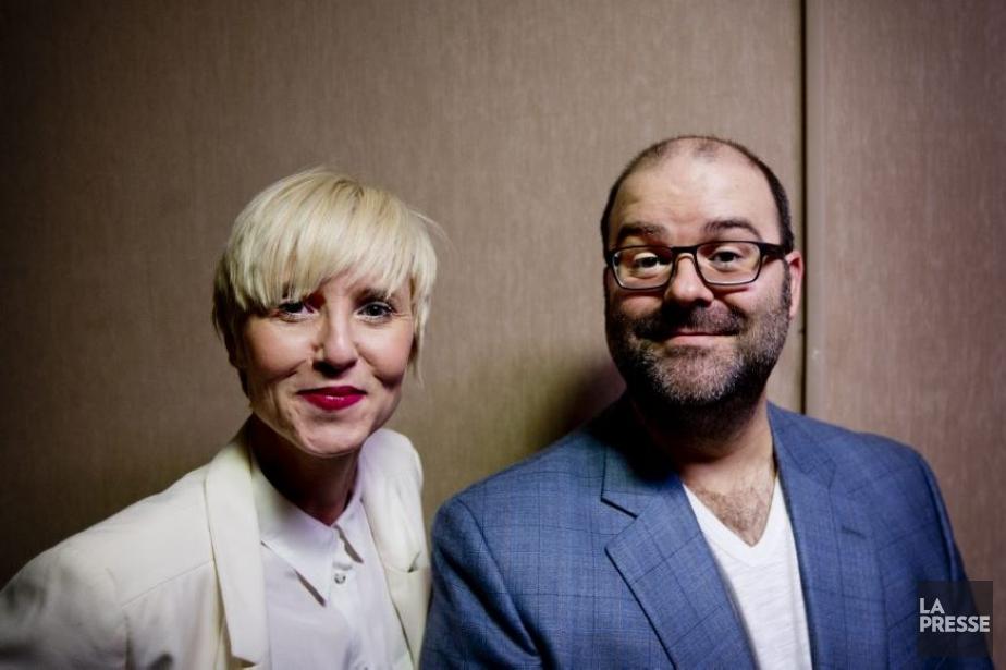 Pénélope McQuade et Laurent Paquin animeront le gala... (Photo: Marco Campanozzi, La Presse)